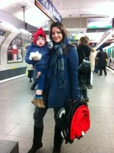 poussette metro