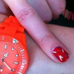 Montre moi tes ongles: les confettis!