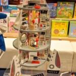 Cadeau de Noël pour enfant voyageur et rêveur: la fusée Oxybul!