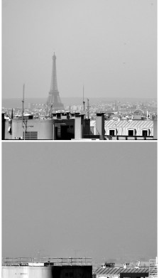 pollution a Paris