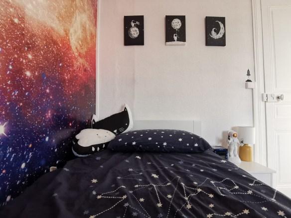 papier peint galaxie