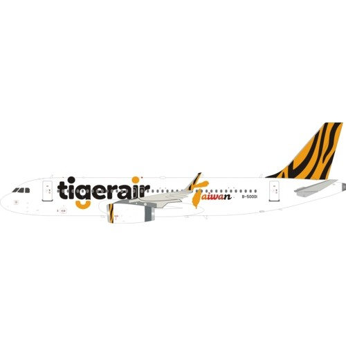IF320IT001 InFlight Tigerair Airbus A320-200 B-50001 with