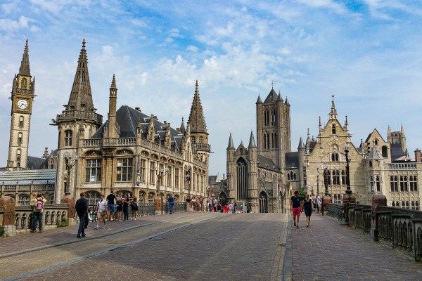 Ghent Of Top In Belgium