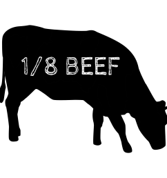 an eighth beef is a great way for first timers to try out our delicious grassfed beef it includes all the typical cuts you want  [ 1920 x 1920 Pixel ]