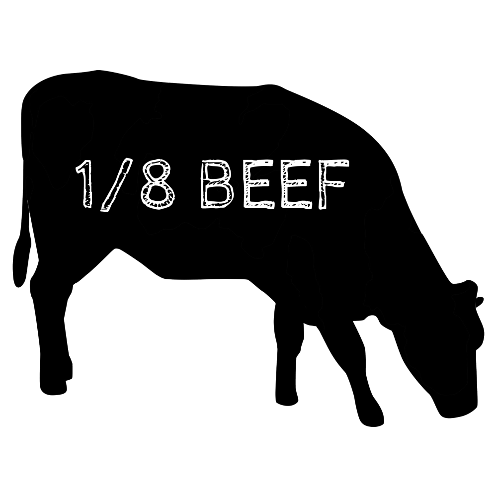 medium resolution of an eighth beef is a great way for first timers to try out our delicious grassfed beef it includes all the typical cuts you want