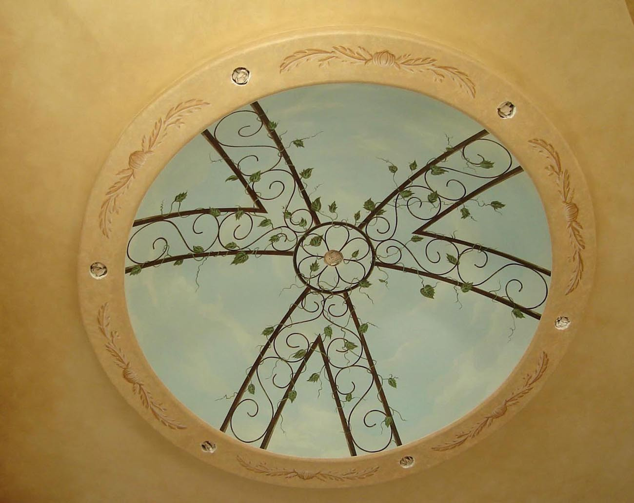 Faux Finish Flying Colors Murals