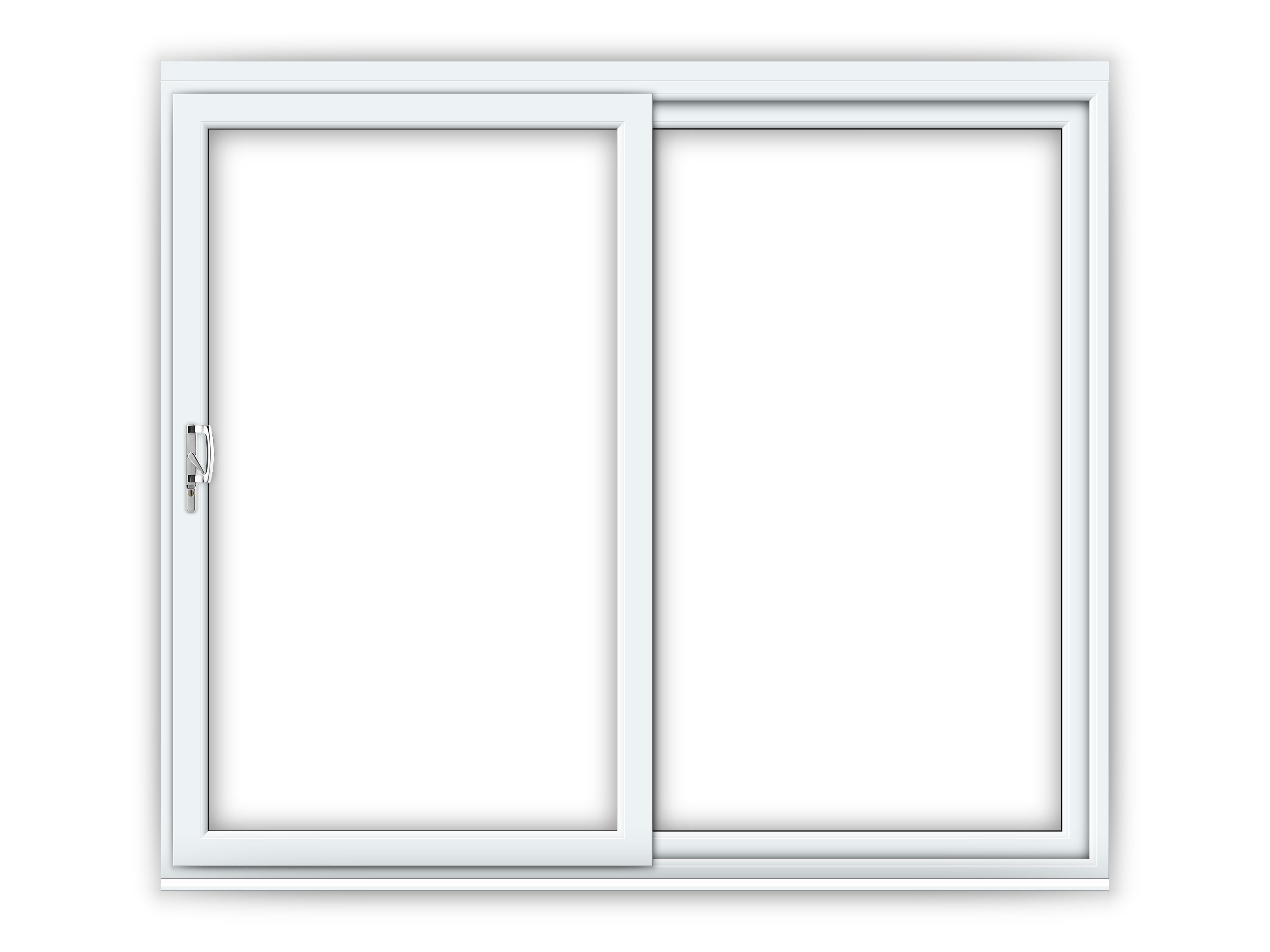 8ft uPVC Sliding Patio Doors