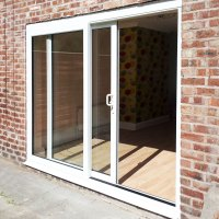 8ft uPVC Sliding Patio Doors | Flying Doors