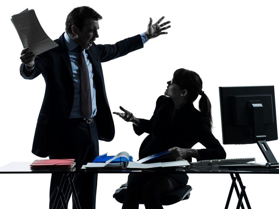 conflit au bureau