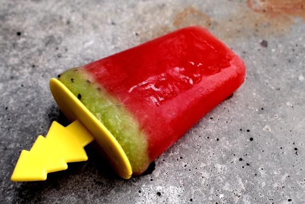 Watermeloen kiwi ijsje