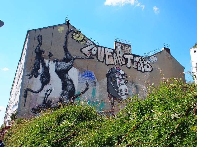 Straat kunst in Berlijn