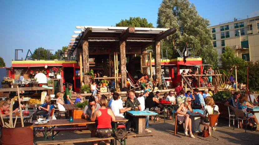 Hotspot Amsterdam Noord Cafe de Ceuvel