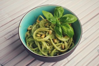 Super simpele pasta pesto recept