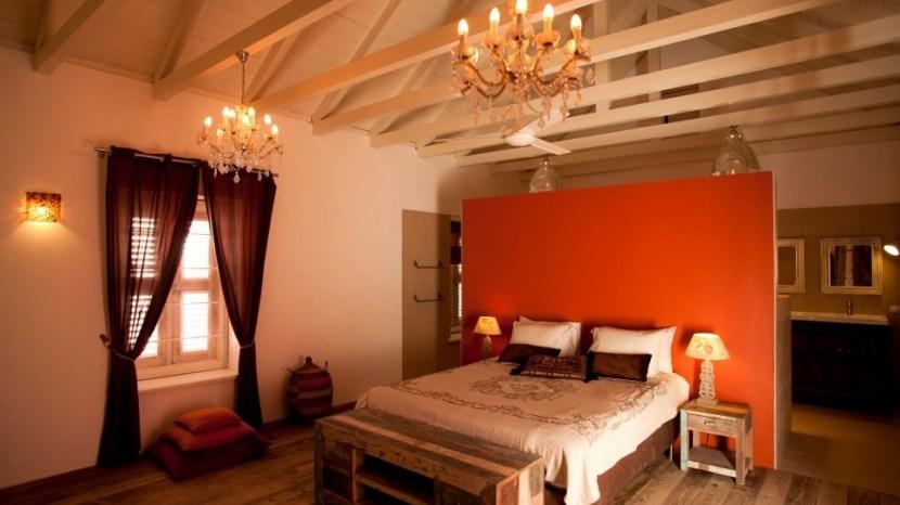 Villa Tokara Hotel Curacao slaapkamer