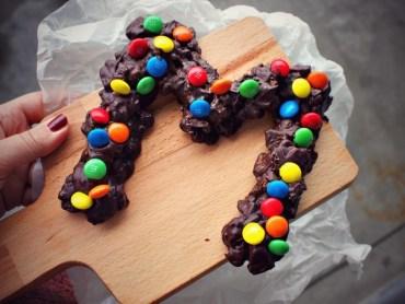 DIY Chocoladeletter oreo