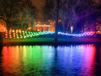 Hotspot Amsterdam Light Festival 2014