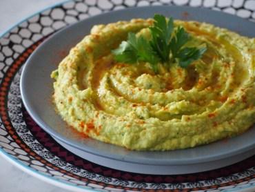 Recept smeuige hummus met avocado hoemoes