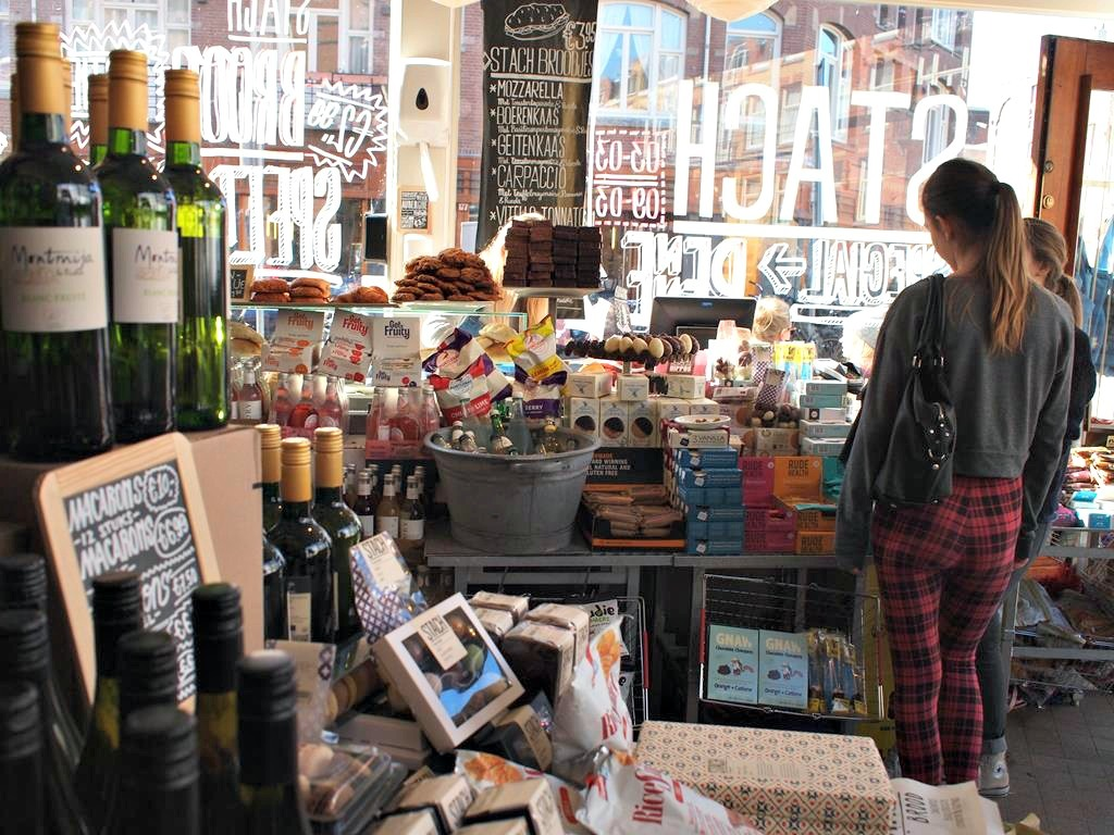 Delicatessenwinkel Hotspot Amsterdam West Stach