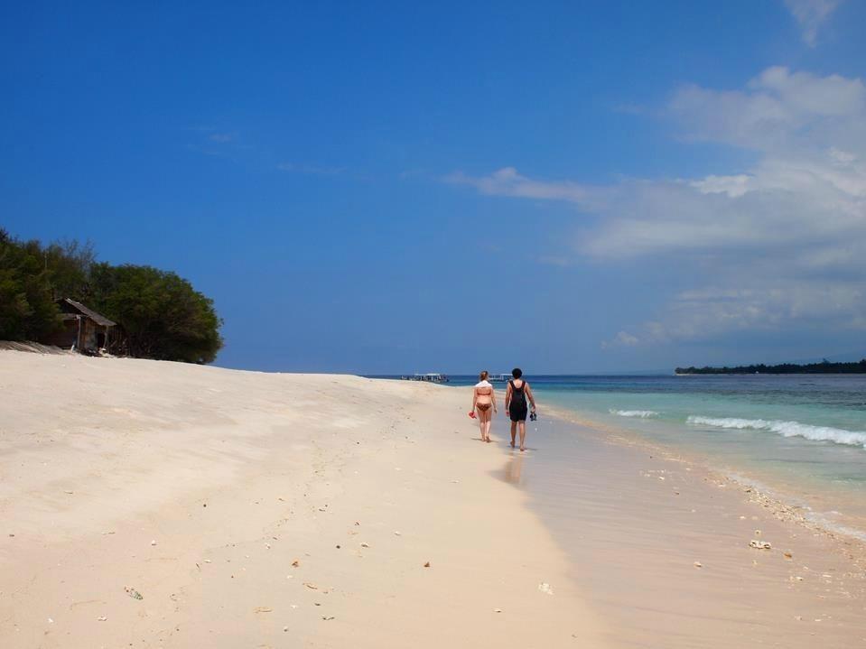 Reis verslag Bali Gili Meno