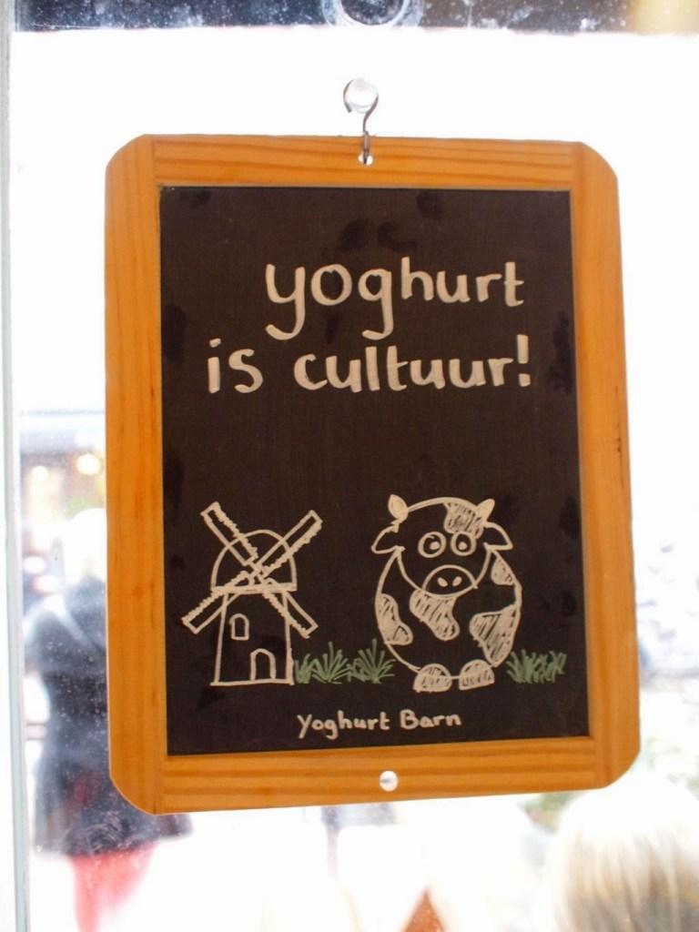 Zoete zuivel hotspot in de Pijp; Yoghurt Barn