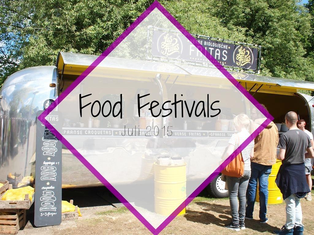 Food Festivals Juli 2015