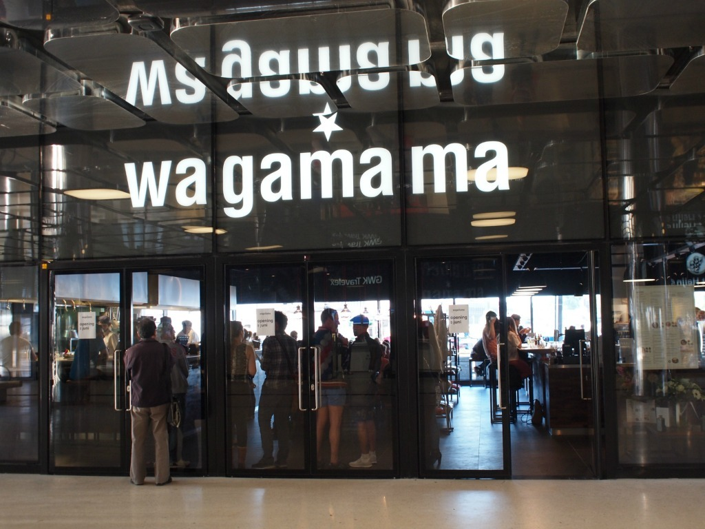 Wagamama Amsterdam Centraal Station IJ vleugel