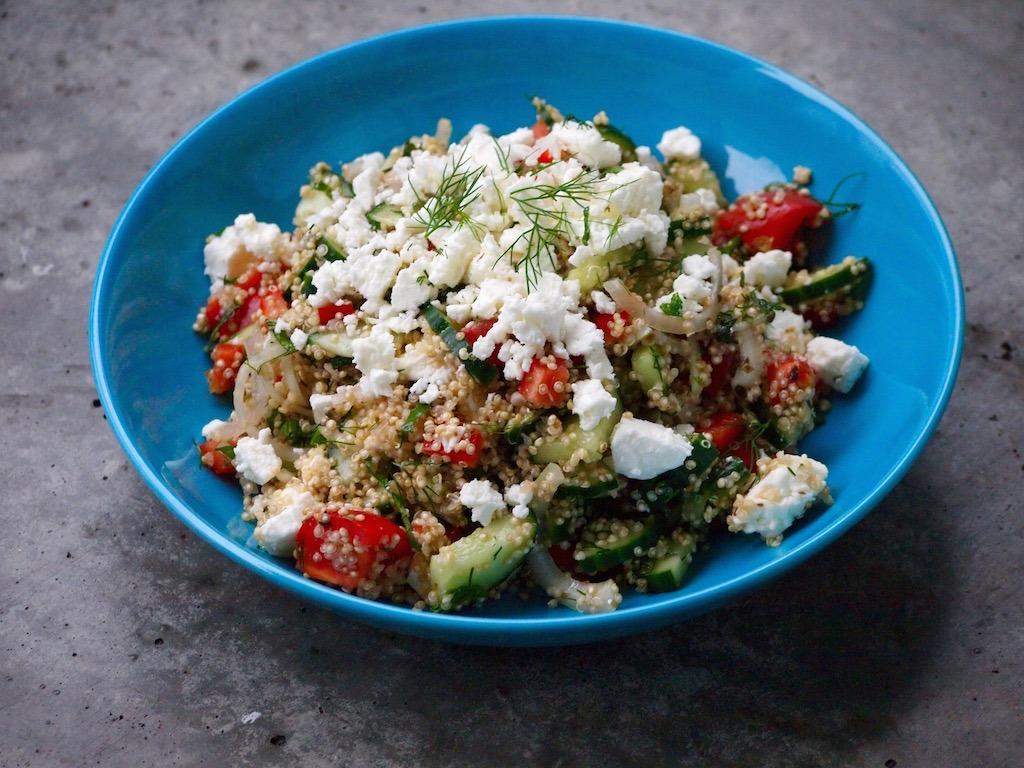 Recept Griekse Quinoa salade