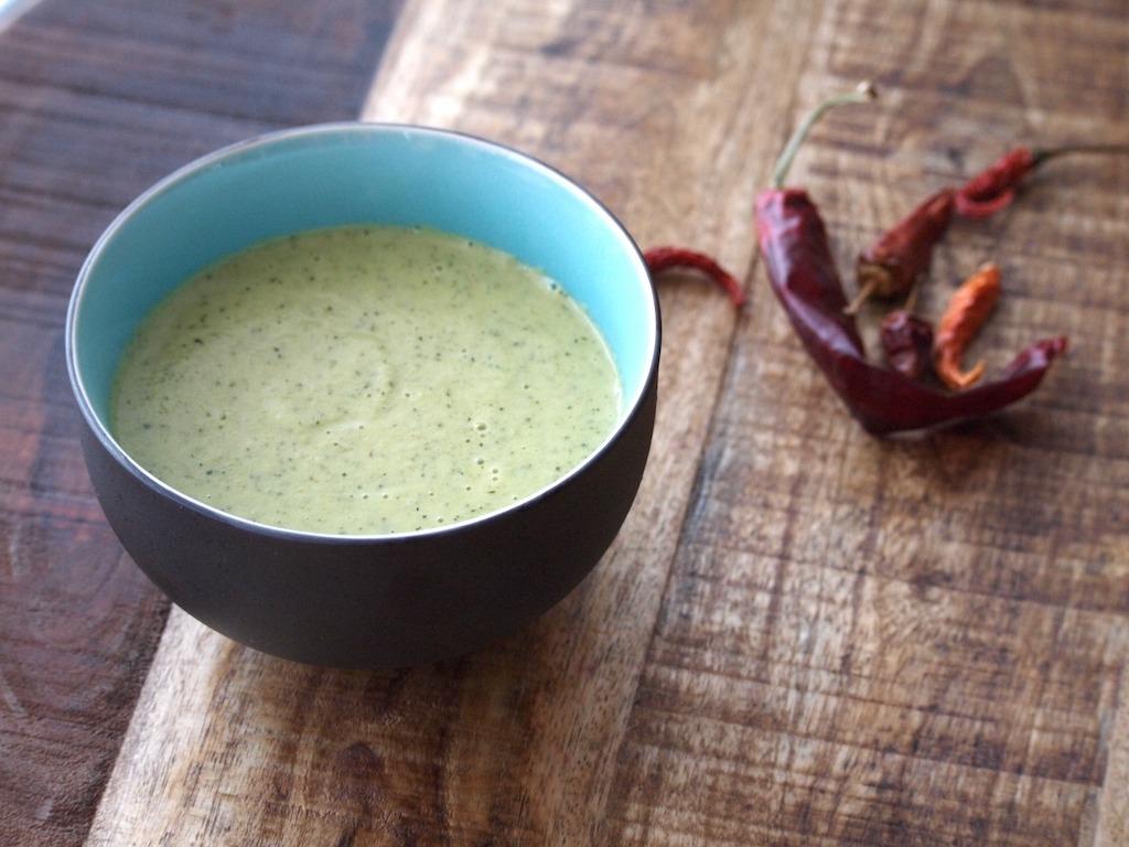 Recept pittige courgette soep