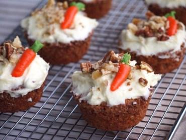 Recept Worteltaart Cupcakes