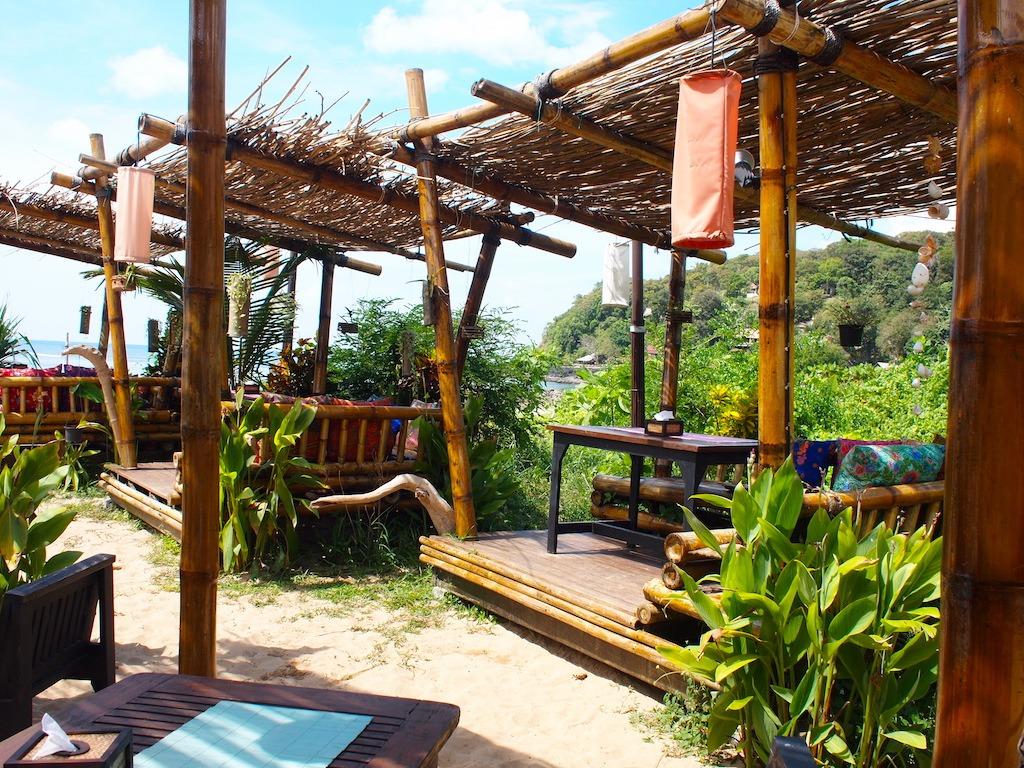 Ko Lanta strand Bamboo Beach restaurant La Lanta