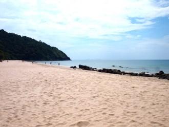 Ko Lanta strand Bamboo Beach