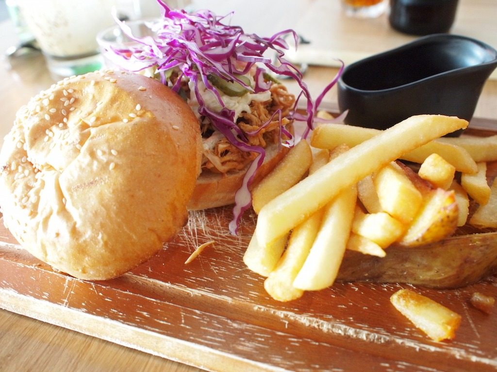 Hotspot Bangkok Siam Sathorn Silom Dexter Cafe pulled pork