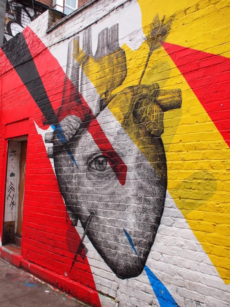 Street art Londen Shoreditch 2016