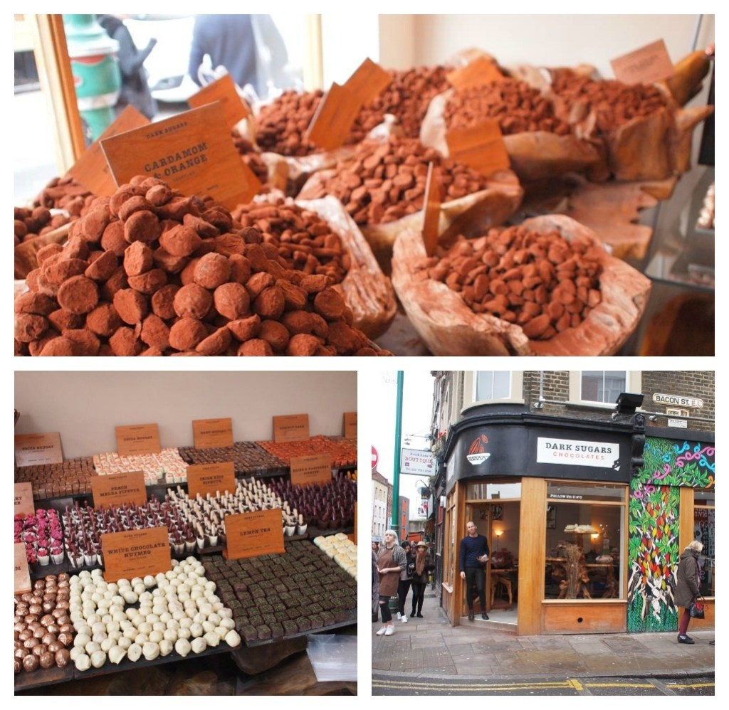 Londen Shoreditch Bricklane favorites hotspots dark sugars