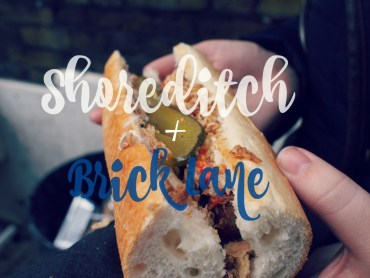 Shoreditch Brick Lane hotspots favorietes