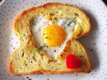 Valentijns ontbijtje met Ei