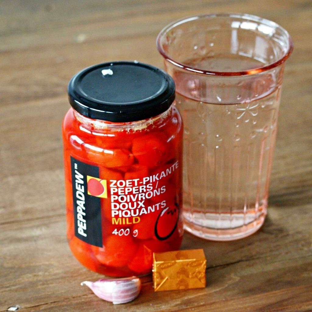 Pittig zoete pastasaus zonder tomaat