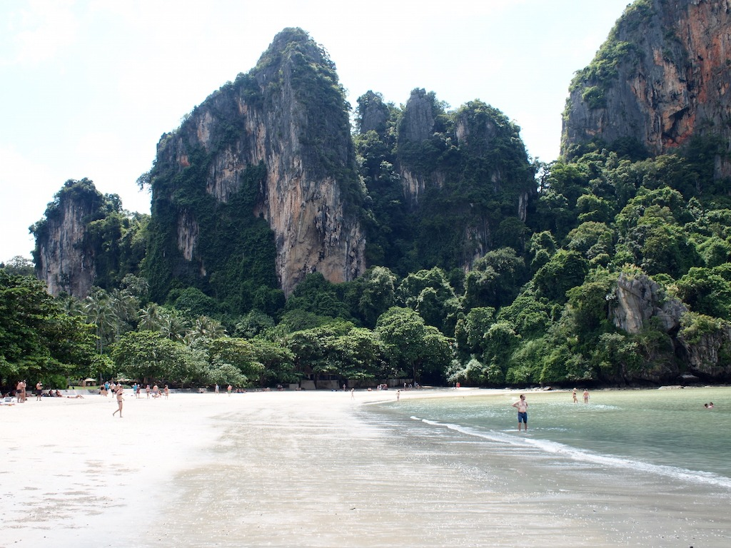 Railay Thailand strand Zuid kust
