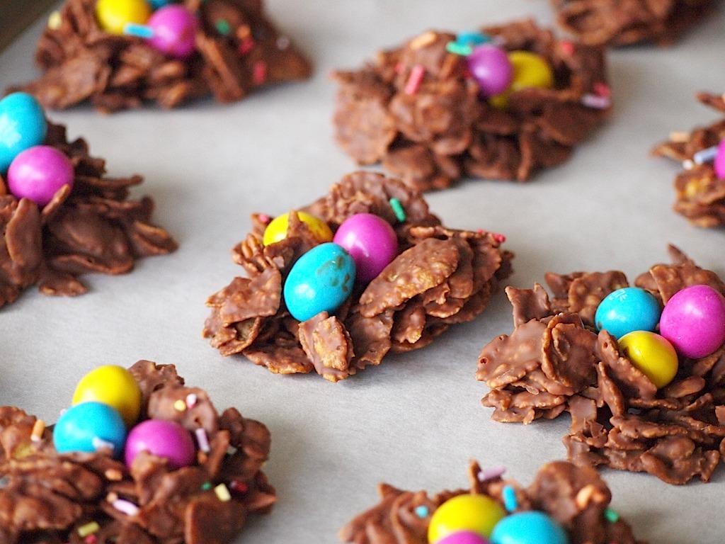 Recept chocolade nestje pasen