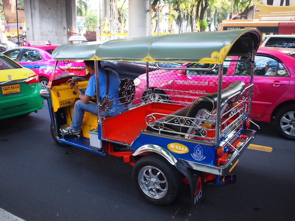 Vervoer Bangkok Tuktuk