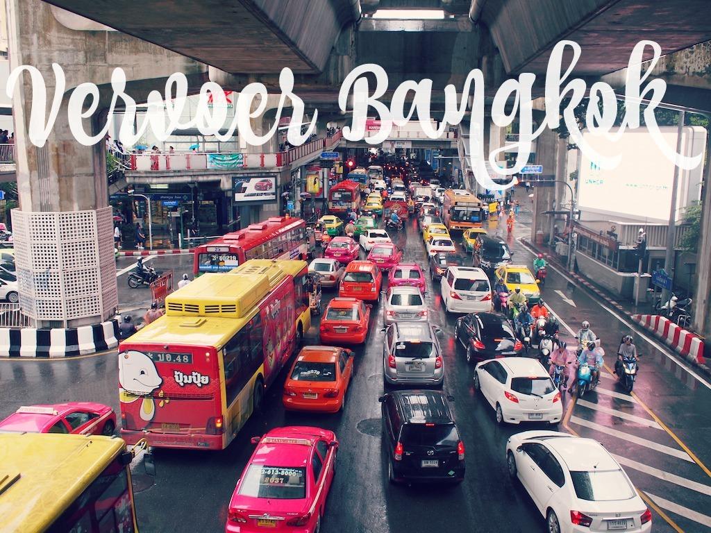 Vervoer Bangkok verschillende soorten vervoer binnen bangkok