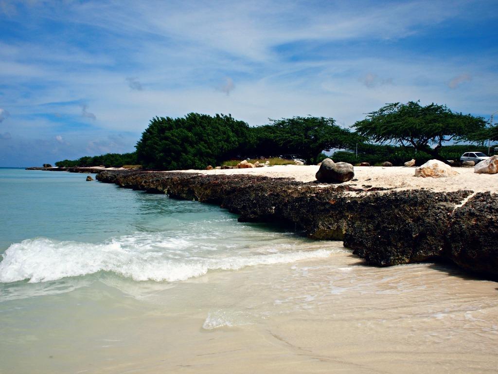 Mooiste stranden van aruba eagle beach