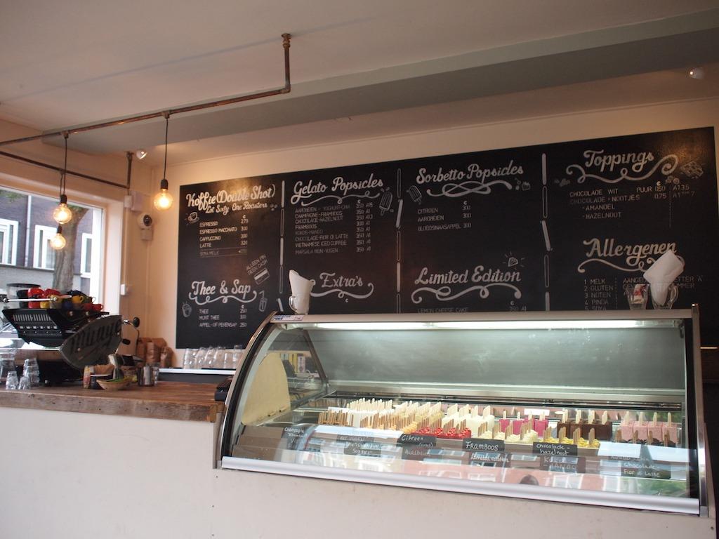 Ijsmanschap Amsterdam ambachtelijke ijsjes popsicle bar