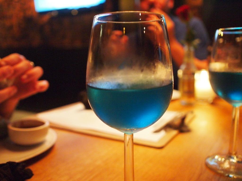 Blauwe Wijn Ginger Amsterdam