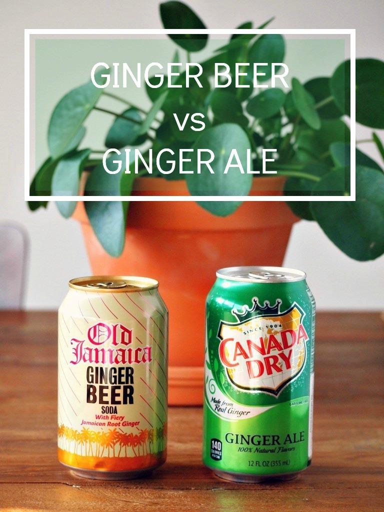Verschil Ginger Beer vs Ginger Ale
