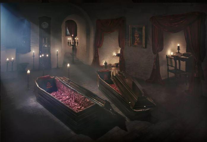 Slapen in een List bij Dracula