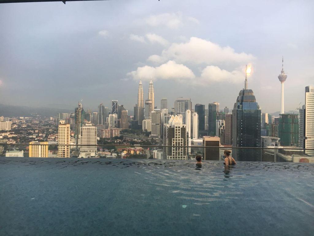 skyline van Kuala Lumpur