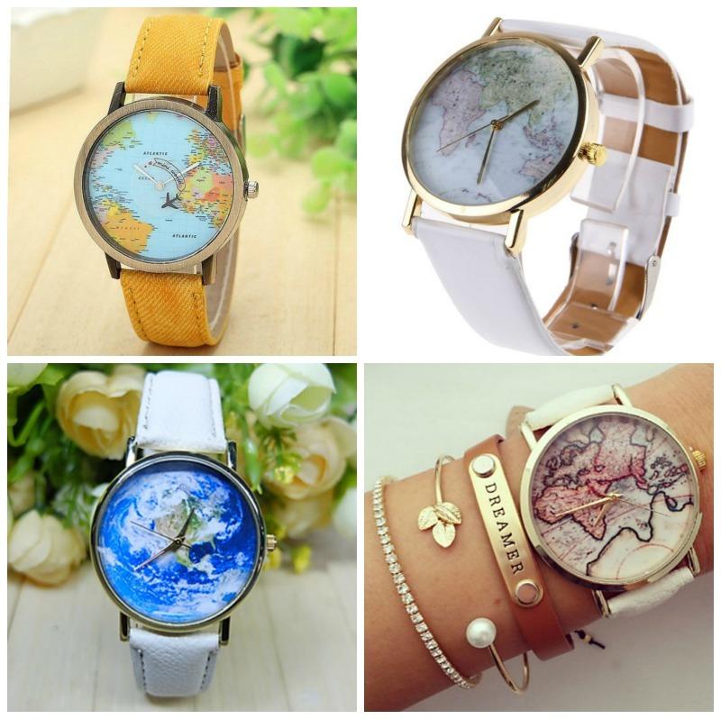 reizigers-horloges-met-wereldkaarten