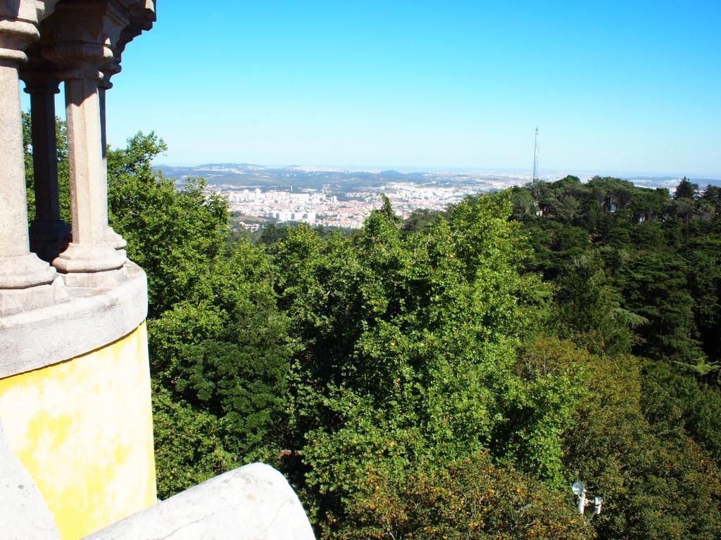 Uitzicht vanaf Sintra