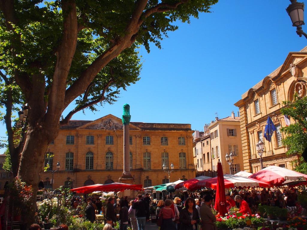 Marktplein Aix en Provence